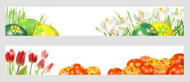 Ostern-Fahnen Lizenzfreie Stockfotografie