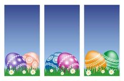 Ostern-Fahnen Stockbild