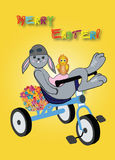 Ostern-Fahrt Stockbild
