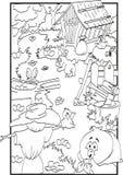 Ostern-Farbton Lizenzfreie Stockbilder