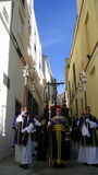 OSTERN-FEIER-PARADE IN JEREZ, SPANIEN Stockfotografie