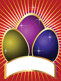 Ostern-Feiertags-Karten Stockfotografie