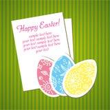Ostern-Feiertagshintergrund lizenzfreie stockbilder