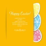 Ostern-Feiertagshintergrund stockbild