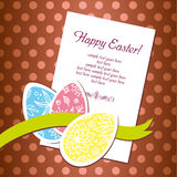 Ostern-Feiertagshintergrund stockbilder