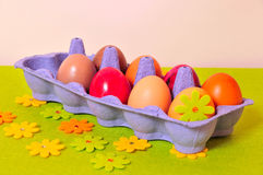 Ostern-Frühling Ei Stockfotos