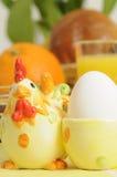 Ostern-Frühstück Stockfotos