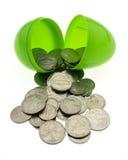 Ostern-Geld Lizenzfreies Stockbild