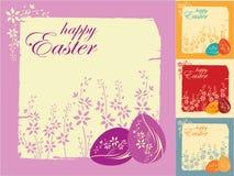 Ostern-Grußkarte Lizenzfreie Stockbilder