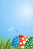 Ostern-Grußkarte Lizenzfreies Stockfoto