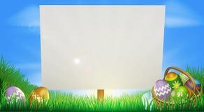Ostern-Hintergrund stock abbildung
