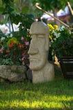 Ostern-Insel-Garten Lizenzfreie Stockfotos