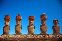 Ostern-Insel Threesome stockbilder