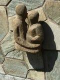 Ostern-Insel Threesome Stockbild