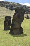 Ostern-Insel Threesome Lizenzfreie Stockfotografie