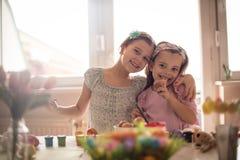 Ostern ist ein wunderbarer Familienurlaub lizenzfreies stockbild