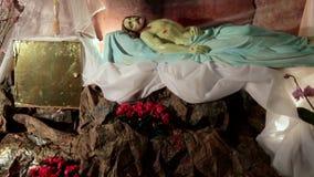 ostern Jesus ist am heiligen begraben stock video