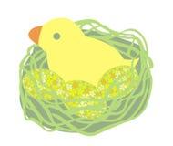 Ostern-Küken lizenzfreie abbildung