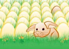 Ostern-Kaninchen vektor abbildung