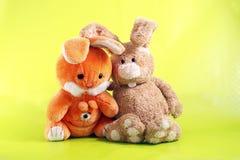Ostern-Kaninchen Stockfotos