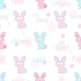 Ostern-Kaninchenmuster Lizenzfreies Stockfoto