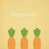 Ostern-Karotten Stockbilder