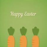 Ostern-Karotten Lizenzfreie Stockfotografie