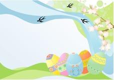 Ostern-Karte Lizenzfreies Stockfoto