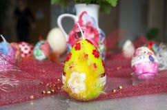 Ostern-Kerzen Lizenzfreies Stockbild