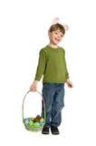 Ostern-Kind Lizenzfreies Stockfoto