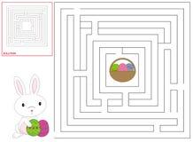 Ostern-Kindspiel Stockfotografie