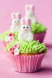 Ostern-kleine Kuchen stockfotos