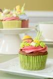 Ostern-kleine Kuchen Lizenzfreie Stockbilder
