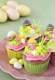Ostern-kleine Kuchen Stockfotografie