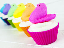 Ostern-kleiner Kuchen Lizenzfreies Stockbild