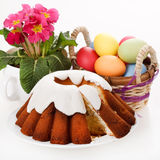 Ostern-Kuchen lizenzfreie stockbilder