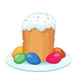 Ostern-Kuchen Lizenzfreies Stockbild