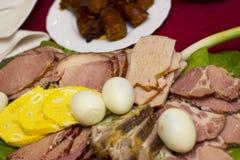 Ostern-Lebensmittel Stockfotografie