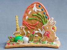 Ostern-Lebkuchen Stockbilder
