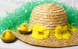 Ostern-Mütze Stockfotografie