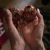 Ostern malte Eier Lizenzfreie Stockfotografie