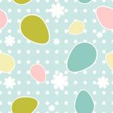 Ostern-nahtloses Muster Stockfoto