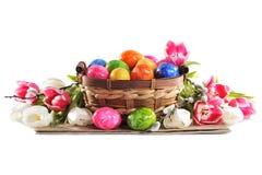Ostern-Nest lizenzfreie stockbilder