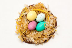 Ostern-Nestzuckerplätzchen Lizenzfreie Stockfotografie