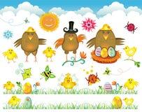 Ostern-nettes Set Auslegungelemente