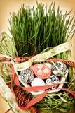 Ostern-noch Leben lizenzfreie stockbilder