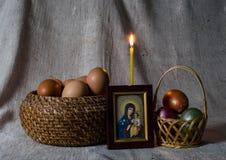Ostern-noch Leben Lizenzfreies Stockfoto