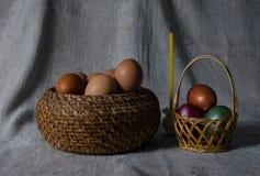 Ostern-noch Leben Lizenzfreies Stockbild