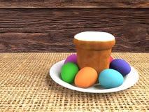 Ostern-noch Leben Abbildung lizenzfreie abbildung