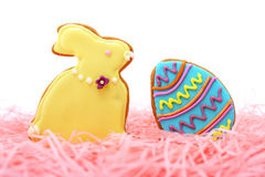 Ostern-Plätzchen Stockfotos